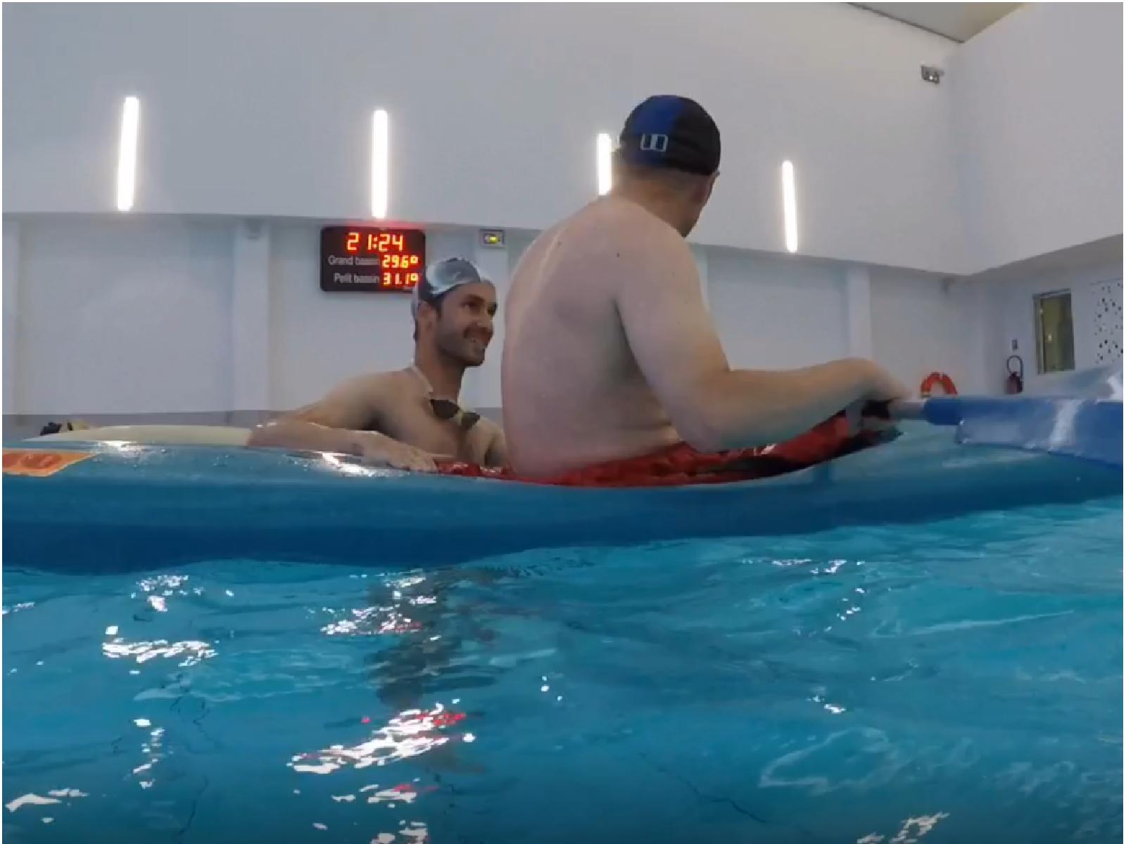 Esquimautage en piscine
